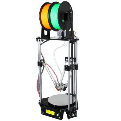 Geeetech Mini G2S Pro Delta 3D Printer DIY Kit3D Printers, 3D Printer Kits<br>Geeetech Mini G2S Pro Delta 3D Printer DIY Kit<br><br>Brand: Geeetech<br>Engraving Accuracy: 0.1mm<br>File format: G-code, STL<br>Frame material: Acrylic plate<br>Host computer software: Repetier-Host<br>LCD Screen: Yes<br>Material diameter: 1.75mm<br>Memory card offline print: SD card<br>Model: Mini G2S Pro<br>Nozzle diameter: 0.3mm<br>Nozzle quantity: Double<br>Nozzle temperature: Room temperature to 260 degree<br>Package size: 49.50 x 39.50 x 19.50 cm / 19.49 x 15.55 x 7.68 inches<br>Package weight: 11.0200 kg<br>Packing Contents: 1 x Geeetech Mini G2S Pro 3D Desktop Printer DIY Kit<br>Packing Type: unassembled packing<br>Platform board: Aluminum Sheet<br>Print speed: 60 to 120mm/s<br>Product forming size: 190 x 190 x 220mm<br>Product size: 32.00 x 32.00 x 87.00 cm / 12.6 x 12.6 x 34.25 inches<br>Product weight: 10.0000 kg<br>Supporting material: PLA, ABS, Wood, Nylon<br>Type: DIY<br>Voltage: 12V