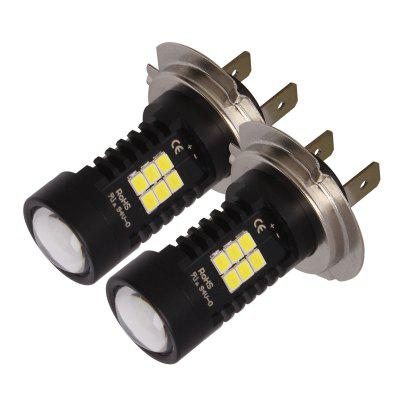H7 - 2835 - 21SMD 2PCS LED Car Headlight