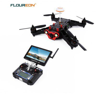 Gearbest Floureon Racer 250 6CH Racing Drone FPV 6 Axis Gyro Drone