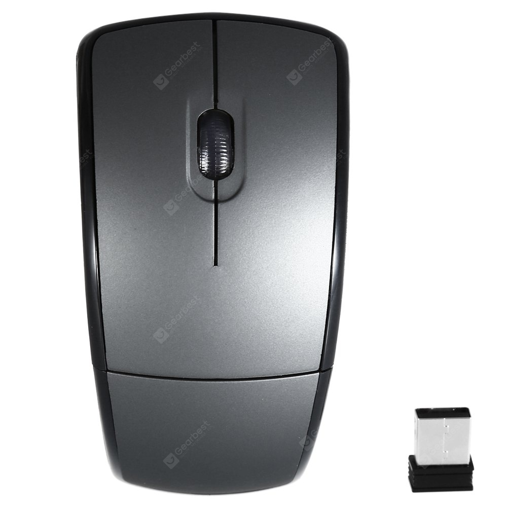 A910 Pieghevole 2.4 GHz Mouse Ottico Wireless Compatibile con Windows e Mac OS