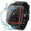 SOCOOLE W08 Swimming Smartwatch Phone - BLACK AND ORANGE