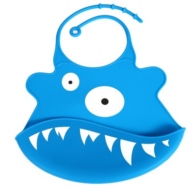 Water Resistant Silicone Bib for Kids / Baby / Children