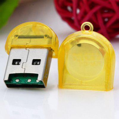 KM-C3 Firefly Shape USB 2.0 TF Card Reader