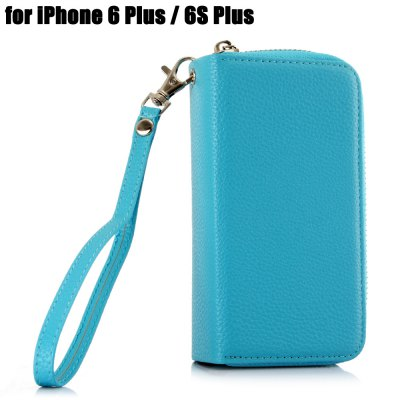 PU Leather Pocket Protective Case for iPhone 6 Plus / 6S Plus