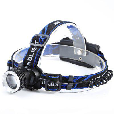 T25 Cree XM - L T6 1000lm 3 - Mode 18650 LED Headlamp