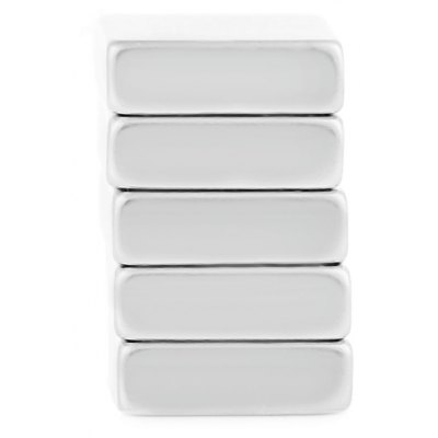 15 x 15 x 5mm N38 Powerful NdFeB Square Magnet for Kid DIY