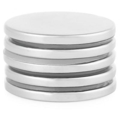 30 x 30 x 3mm N38 Powerful NdFeB Cylinder Magnet for Kid
