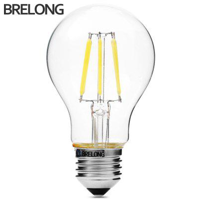 BRELONG A60 E27 6W COB 540Lm LED Edison Bulb Dimming