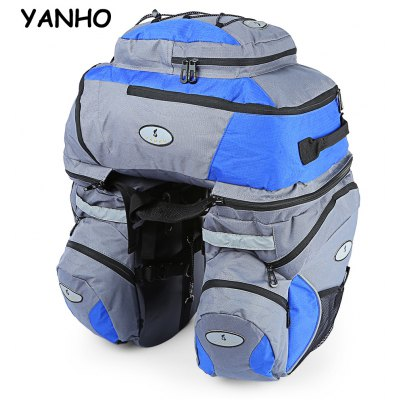 YANHO 1605 MTB Triple Bicycle Luggage Bag