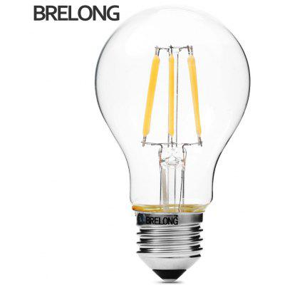 BRELONG 6W COB E27 540Lm A60 Retro Dimmable LED Filament Bulb