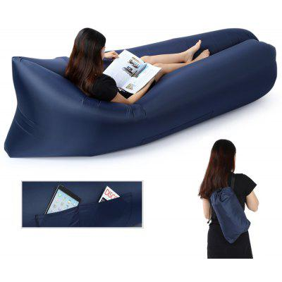 Inflatable Folding Sleeping Bag Lazy Sofa for Outdoor Camping
