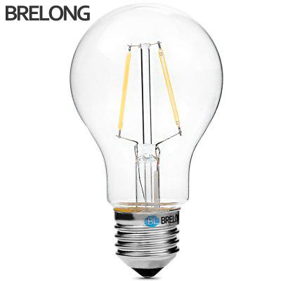 BRELONG A60 E27 2W COB 180Lm Dimmable LED Edison Bulb