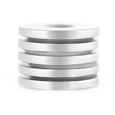 25 x 25 x 3mm N38 Powerful NdFeB Round Magnet for Kid DIY