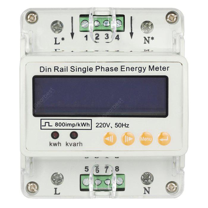 GAHE GHDS100 Single Phase Din Rail Energy Meter