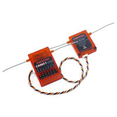 REDCON CM651 Receiver with Satellite