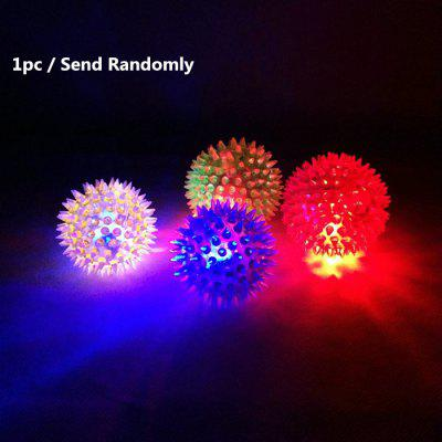 1pc LED Flashing Hedgehog Bouncing Ball