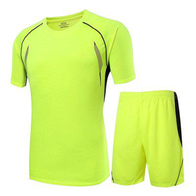 Soccer Neon T Shirt Set