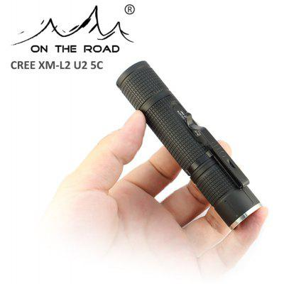 ON THE ROAD M900 XM-L2 U2 5C Flashlight