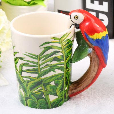 Креативные Toucans Shaped Ceramic Mug