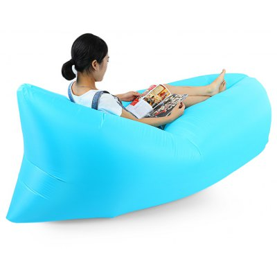 Inflatable Nylon Sleeping Sofa