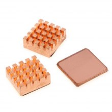 3PCS Cooling Copper Heatsinks Heat Sink DIY for Raspberry Pi