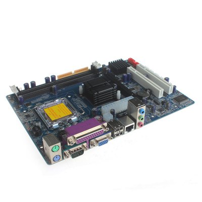 Intel G31 Micro ATX LGA 775 DDR2 Motherboard 8GB Dual - channel for DIY ProjectMotherboards<br>Intel G31 Micro ATX LGA 775 DDR2 Motherboard 8GB Dual - channel for DIY Project<br><br>Audio Chipset: ACL662<br>Batteries Included: No<br>Channel Supported: Dual-Channel<br>Connectors: PCI Express, USB<br>CPU Socket Type: LGA775<br>LAN Chipset: RTL8103<br>Mainly Compatible with: Ardunio<br>Maximum Memory Supported: 8GB<br>Memory Standard: DDR2 533 / 667 / 800<br>Package Contents: 1 x Motherboard, 1 x CD, 2 x Data cables ( 40cm ), 1 x English User Manual<br>Package Size(L x W x H): 26.00 x 23.00 x 4.50 cm / 10.24 x 9.06 x 1.77 inches<br>Package weight: 0.7800 kg<br>Product Size(L x W x H): 21.00 x 20.00 x 3.20 cm / 8.27 x 7.87 x 1.26 inches<br>Product weight: 0.4050 kg