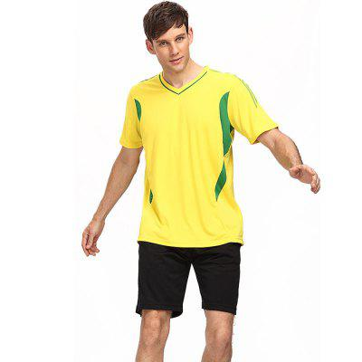 Male Football Suit Clothing
