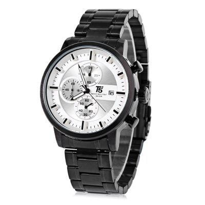 T5 H3451G Casual Working Sub-dial 3ATM Men Quartz Watch