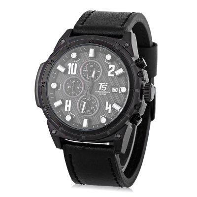 T5 H3436G Casual Working Sub-dial 3ATM Men Quartz Watch