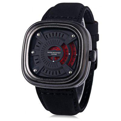 T5 H3453G Casual Hollow-out Seconds Dial 3ATM Men Quartz Watch