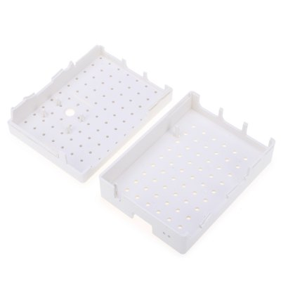 Practical ABS Case Protective Enclosure for Raspberry PiOther Accessories<br>Practical ABS Case Protective Enclosure for Raspberry Pi<br><br>Color: White<br>Package Contents: 1 x ABS Protective Case<br>Package Size(L x W x H): 9.00 x 7.00 x 3.50 cm / 3.54 x 2.76 x 1.38 inches<br>Package weight: 0.060 kg<br>Product Size(L x W x H): 8.70 x 6.70 x 3.20 cm / 3.43 x 2.64 x 1.26 inches<br>Product weight: 0.034 kg