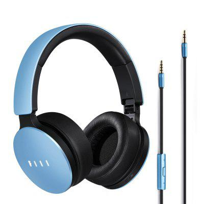 FIIL Music Retractable Headphones Active Noise Canceling with Mic Foldable Design