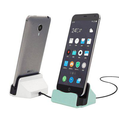 Desktop Phone Charging Cradle with Two Micro USB Outputs