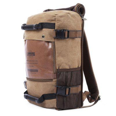 KAUKKO 18L Laptop BackpackBackpacks<br>KAUKKO 18L Laptop Backpack<br><br>Bag Capacity: 18L<br>Brand: KAUKKO<br>Capacity: 11 - 20L<br>Color: Khaki<br>Features: Laptop Bag<br>For: Cycling, Traveling, Climbing, Casual, Hiking<br>Material: PU Leather, Cotton, Canvas<br>Package Contents: 1 x KAUKKO 18L Fashionable Backpack<br>Package size (L x W x H): 46.00 x 30.00 x 8.00 cm / 18.11 x 11.81 x 3.15 inches<br>Package weight: 1.3350 kg<br>Product size (L x W x H): 45.00 x 29.00 x 17.00 cm / 17.72 x 11.42 x 6.69 inches<br>Product weight: 1.2600 kg<br>Type: Backpack