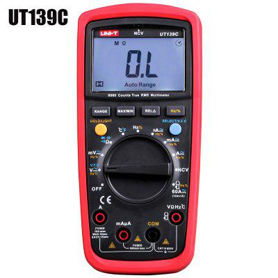 UNI - T UT139C True RMS Digital Multimeter