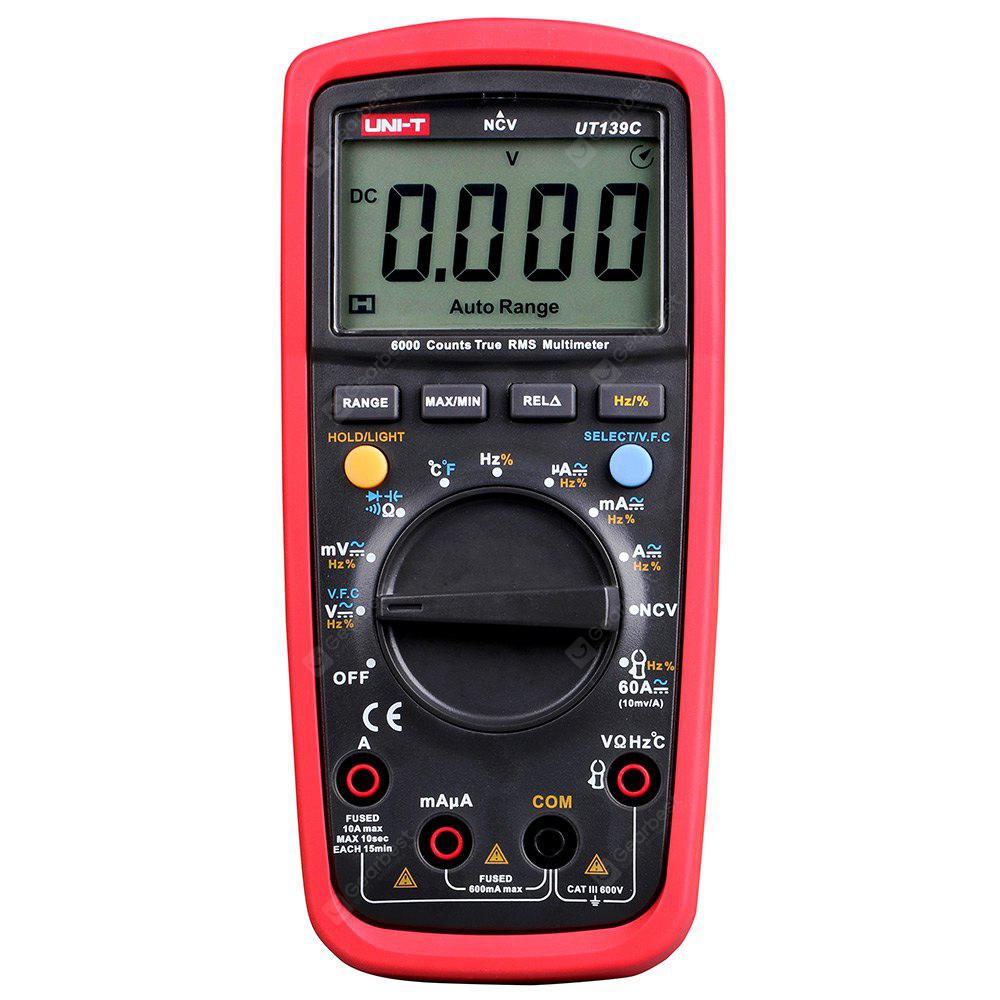 Gearbest UT139C True RMS Digital Multimeter 29€