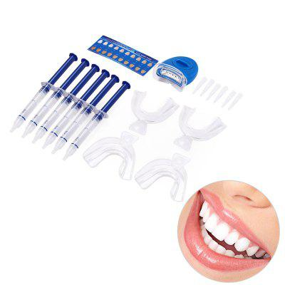 Dental Oral Care Teeth Whitening Kit with Bleaching Lamp