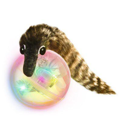 Cute Beaver Ball Bath LED Light Shower Toy for Baby