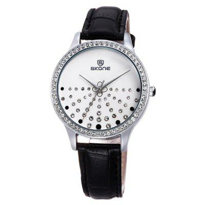 SKONE Fashion Imported Movement Women Quartz Watch
