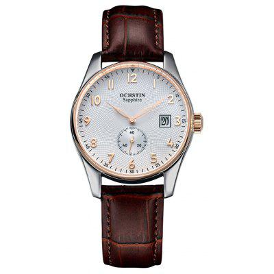 OCHSTIN Simple Fashion Sapphire Mirror Men Quartz Watch