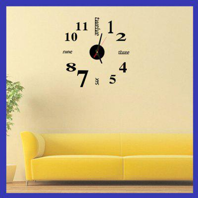 Fun Life Creative DIY Wall Clock