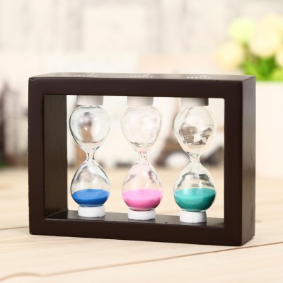 3 in 1 Hourglass Sand Timer 1 / 2 / 3min Optional