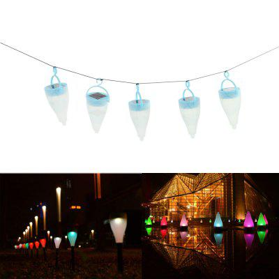 10 x Solar Cone LED Garden Light