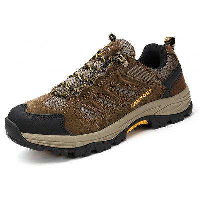 Mountaineering Shoes Breathable Upper Sneakers For Men