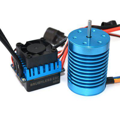 Surpass F540 3650 4370KV Water-proof Motor + 45A ESC