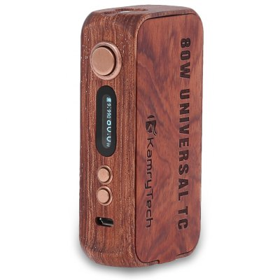 Kamry 80W UTC Wooden Box Mod