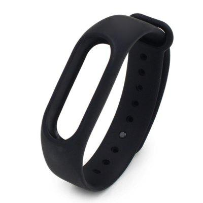 Silicone Smart Wrist Watch Strap for Xiaomi Miband 2