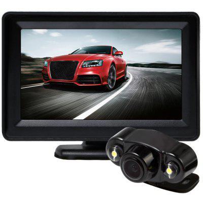 432B1 Car Rearview Camera with Rear View Monitor