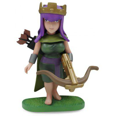 COC Queen Figure Model Collection Table Decor
