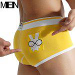 MenBoat MB050 Boxer Shorts - YELLOW
